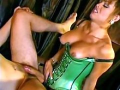 Gorgeous tranny nails guy real hard