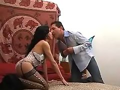 Hot tranny and guy sucks each other