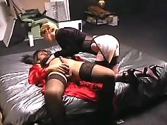 Latina shemale sucked in groupsex