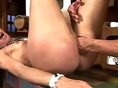 Tight shemale ass gets plugged